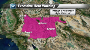 Las Vegas Desert Heat